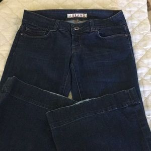 Dark Wash J brand bell bottom jeans